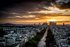 "Sundown at ""La Defence"""