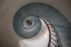 Inside the lighthouse