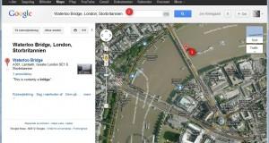 Find koordinater i Google Maps