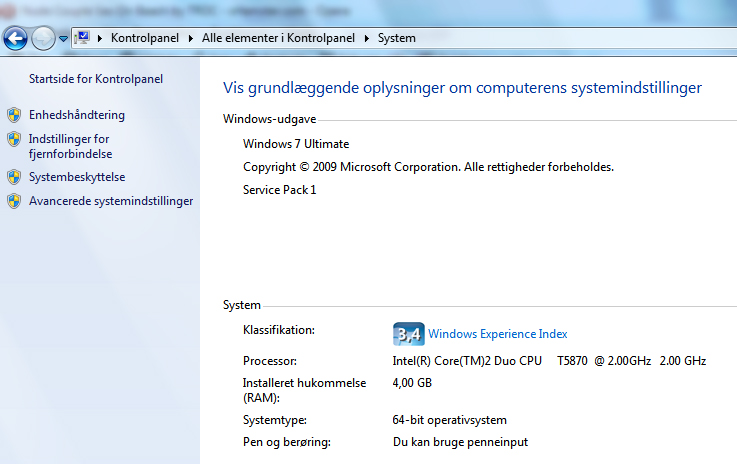 Visning af RAW filer i Windows 7